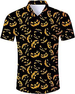 Men's Tropical Hawaiian Shirt Casual Button Down Dress Shirt