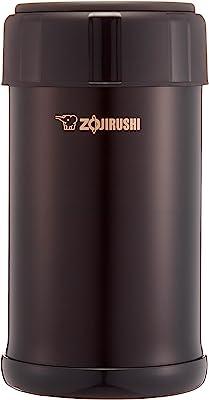 象印マホービン(ZOJIRUSHI) ステンレスクック&フードジャー おまかせ保温 保冷調理 保温ランチジャー 750ml ダークココア SW-JA75-TD