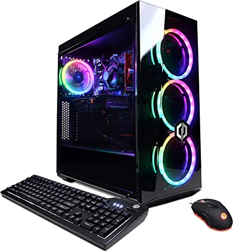 high quality CYBERPOWERPC Gamer Master Gaming PC, AMD Ryzen 3 3100 3.6GHz, 8GB DDR4, Radeon RX outlet online sale 550 2GB, 240GB SSD, 2TB HDD, 2021 WiFi Ready & Win 10 Home(GMA888A5) online sale