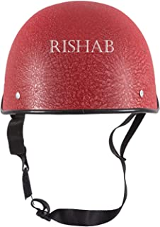 SARTE All Purpose Safety Helmet with Strap (R-Red)