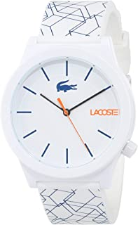 Lacoste Women's White Dial Silicone Band Watch - 2010956