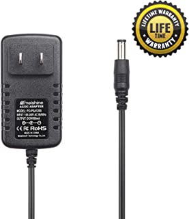 Molshine Compatible (6.6ft Cable) 9V AC DC PSA120S PSA-120S PSA120 PSA-120 Adapter Power Supply Rapid Charger for Boss ME-25 ME-50 ME-70 ME-80 DS-1 DD-20 GT-10 HM-2 RC-3 RC-30 RV-5 RV-6 TU-3 VE-20