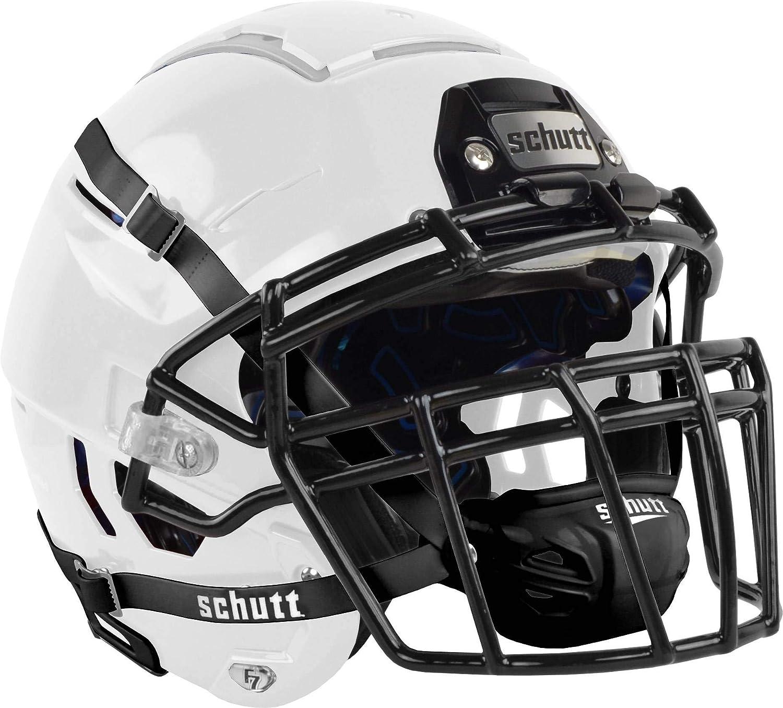 Schutt F7 VTD Adult Football Helmet with Facemask : Sports & Outdoors