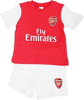 63903ab6 Arsenal FC Official Baby Football Crest T-Shirt & Shorts Set