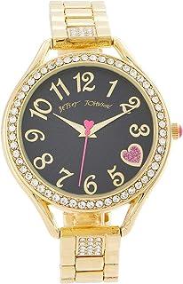 Heart Textured Dial Watch