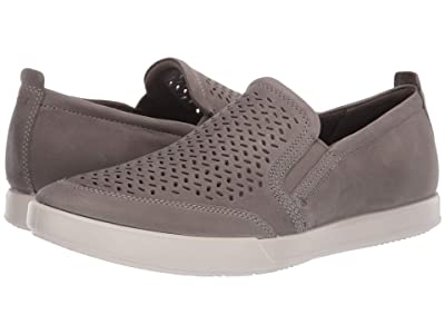 ECCO Collin 2.0 Perforated Slip-On (Warm Grey) Men