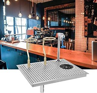 Surprise d'été Verre Rinser, Bar En Acier Inoxydable Automatique Tasse Rondelle Rinser Cleaner avec Push Type Robinet Filt...