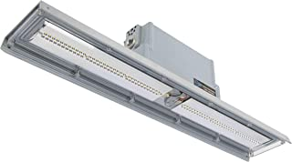 Explosion Proof Low Profile Linear LED Light - Pendant Mounted - 3600 Lumens - Class 2 Div 1