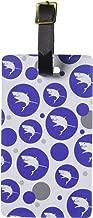 حقائب وأمتعة السفر بأمتعة محمولة لبطاقات ID مجموعة مكونة من قطعتين–رائعة القرش الأبيض