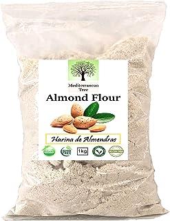 comprar comparacion Mediterranean Tree Harina de Almedras, Sin Gluten, Molida Fina - 1 Kg