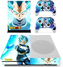 Tullia Xbox One S Skin Set Vinyl Decal Skin Stickers Protective for Xbox One S Console Kinect 2 Controllers - Anime