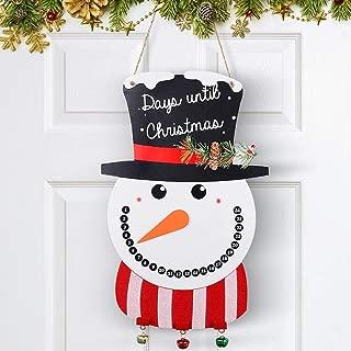 Unomor Snowman Christmas Door Decorations, Christmas Decorations - 17x11''