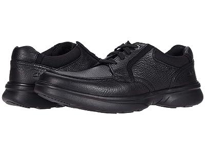 Clarks Bradley Vibe (Black Tumbled Leather) Men