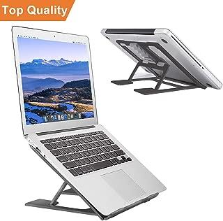Adjustable Laptop Stand,Ventilated Portable Ergonomic Notebook Riser for Desk,Multi-Angle Adjustable Portable Anti-Slip Mount for MacBook, Surface Laptop, Notebook, 10