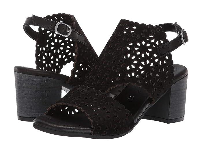 Eric Michael Delilah (Black) Women's Shoes