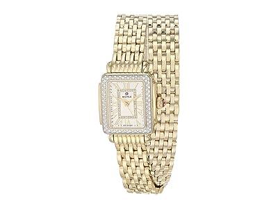 Michele Deco Madison Mini Double Wrap Bracelet (Gold Plated) Watches