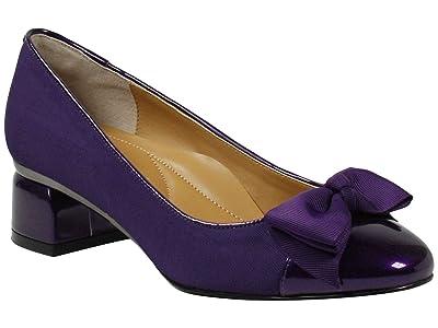 J. Renee Gelar (Purple Cross Grain) High Heels