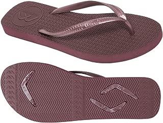 Boomerangz Slim Fit Interchangeable Flip Flops | Slippers | Thongs (Women's) Colour: Burgundy