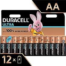Duracell Ultra Power Piles Alcalines Type AA, Lot de 12 Piles (Visuel non Contractuel)