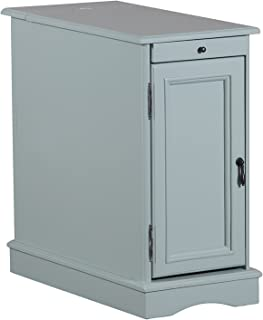 Powell Furniture Butler Accent Table, Aqua, Small