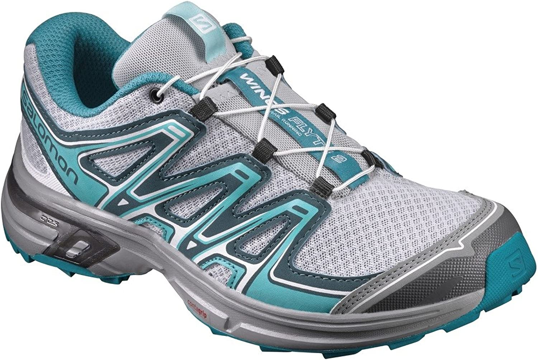 Salomon Wings Flyte 2 W Footwear Grey-bluee Womens Trainers Sneaker shoes