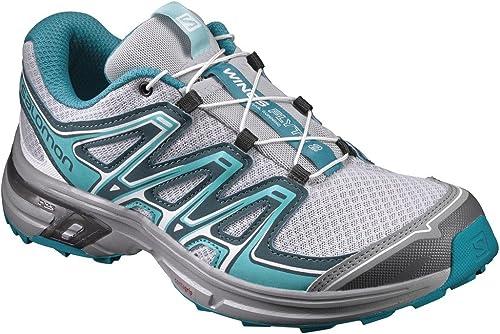 Salomon Femme Wings Flyte 2 Chaussures de Course à Pied et Trail Running, Synthétique Textile, Rouge, Pointure