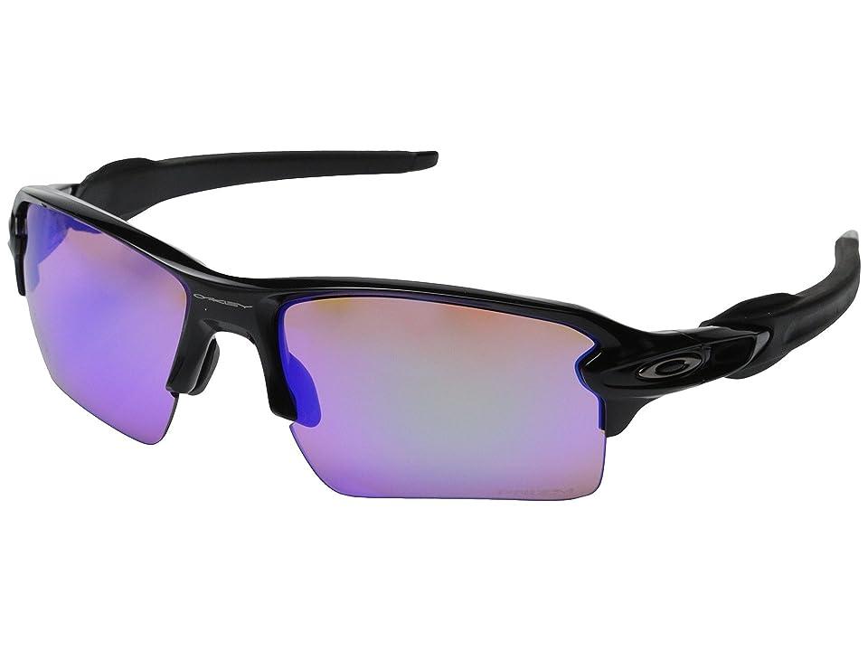 Oakley Flak 2.0 XL (Polished Black w/Prizm Golf) Sport Sunglasses