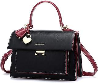 BUKESIYI Damen Tasche Umhängetasche Handtasche Frauen Klein Schultertasche Weekender Lack PU Leder CCDE77501