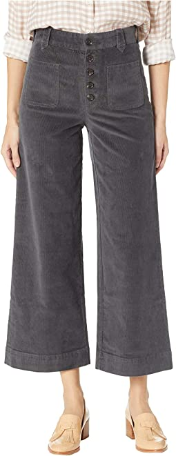 Button Fly Corduroy Pants