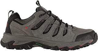 Karrimor Mens Mount Low Walking Shoes Lace Up Waterproof Charcoal 8.5 US