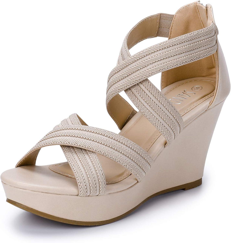 SANDALUP Back Zipper Sandals for Wedges Shoes online shop Max 57% OFF Women