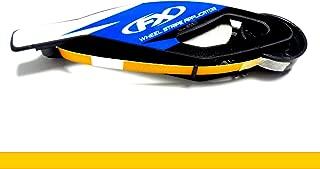 CaliBikerClub Reflective Golden Yellow Rim Tape Wheel Stripes w/Easy Applicator for 16