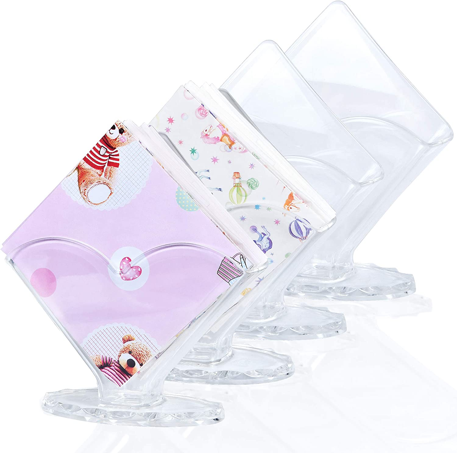 4 sold out Pack Napkin Holder Acrylic Akamino for Cocktail Award-winning store