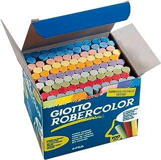 Giotto 5390 00 Carton de 100 craies de différentes Couleurs RoberColor