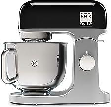 Kenwood kMX750BK – Robot de cocina 1000w, procesador alimentos 6 velocidades, 1000 W, Metal, Negro, Plata