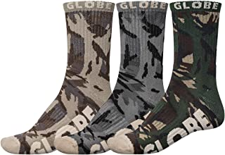 Globe, Calcetines modelo Eco Camo Crew Sock 3 Pack marca