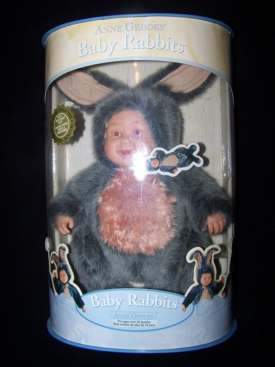 Anne Geddes Baby Rabbits Signature Series Doll