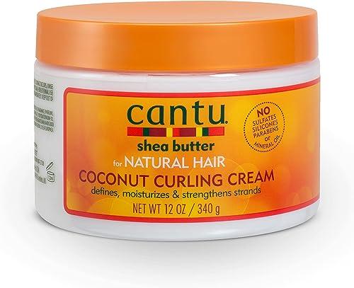 Cantu Shea Burro di Coconut Curling Cream, 340 g