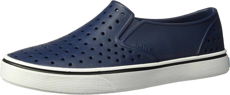 Native Shoes - Miles Junior, Regatta Blue/Shell White, J6 M US