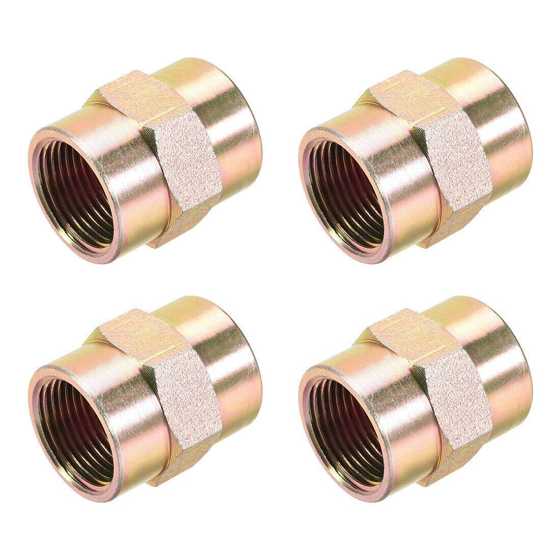 Pipe Fittings Fitting Connector Hex PT Coupling 4 Female Large special price 3 Long-awaited