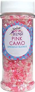 Festival Pink Camo Sprinkle Blendz, Assorted Colors, 5.2 oz. Jar