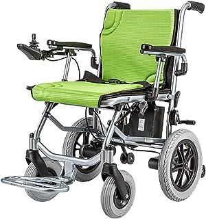 De Peso Ligero Plegable sillas de Ruedas eléctrica Silla de Ruedas eléctrica 190 2W 24V 10Ah por Li-Ion, más Larga Gama de conducción de Ruedas Eléctrica Seguro y fácil de Conducir, hasta 20 km