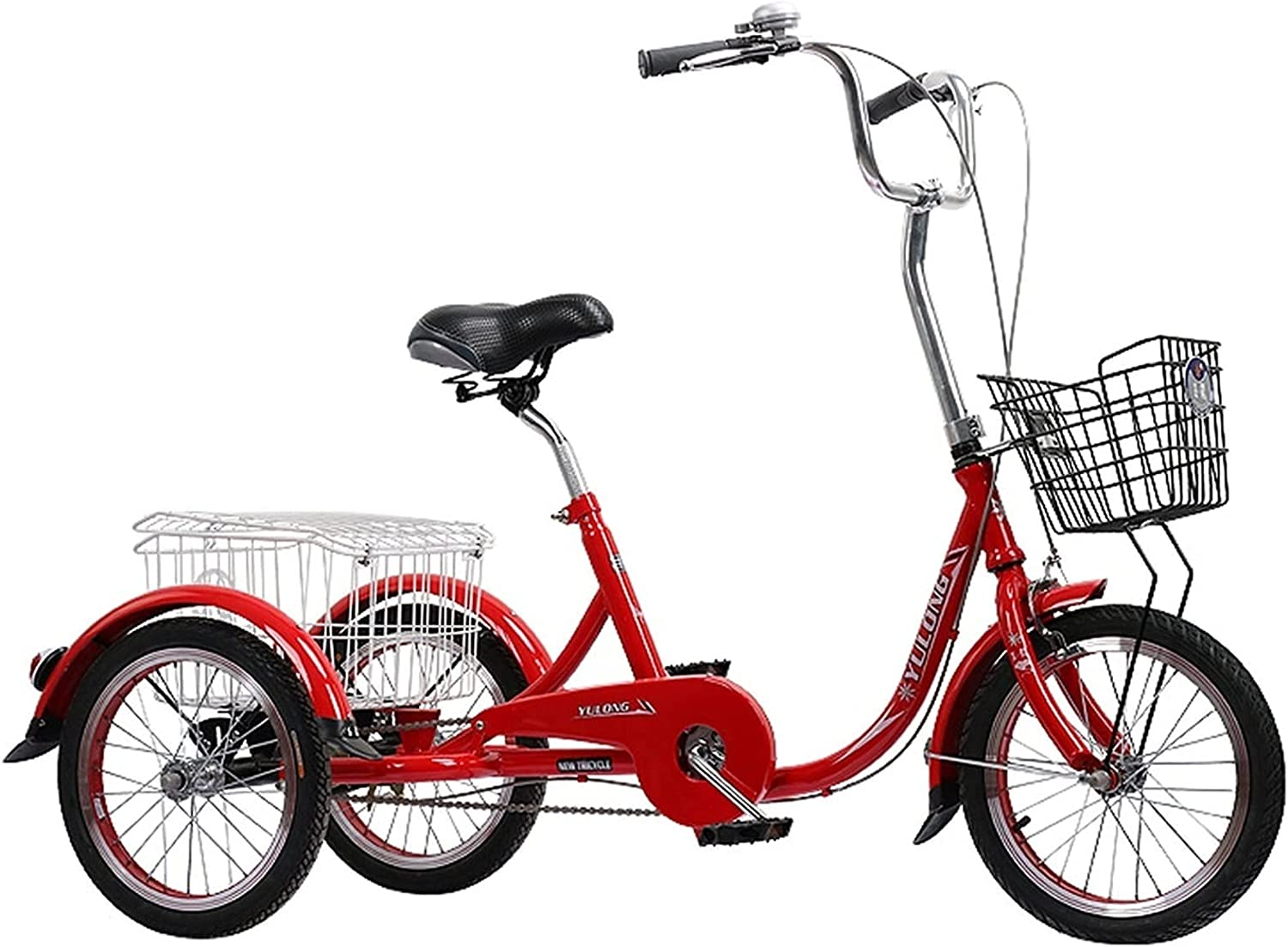 YXYH Max 51% OFF Tricycle for Adult Seniors Women Sp Trike 55% OFF Men 16inch Single