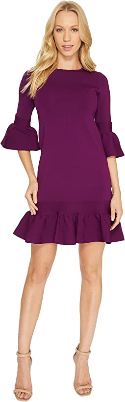Ted Baker - Tynia Peplum Sleeve Knitted Dress