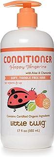 Little Twig Conditioner, Natural Plant Derived Formula, Tangerine, 17 fl oz.