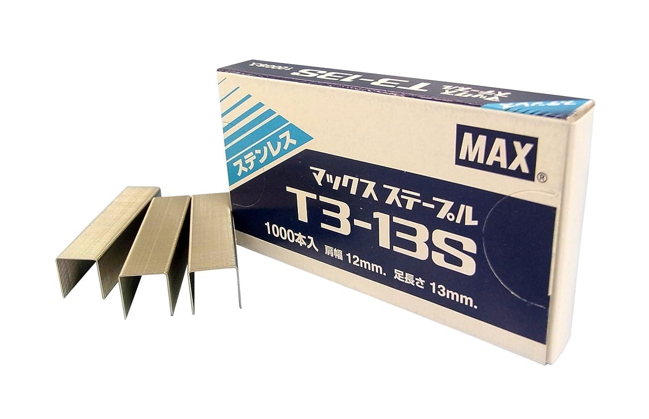 音楽家オンテナントマックス ステープル ステンレス T3-13S 1000本