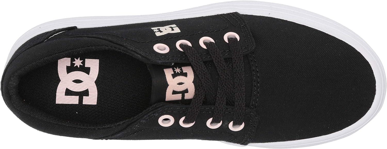 DC Unisex-Child Trase Platform Skate Shoe