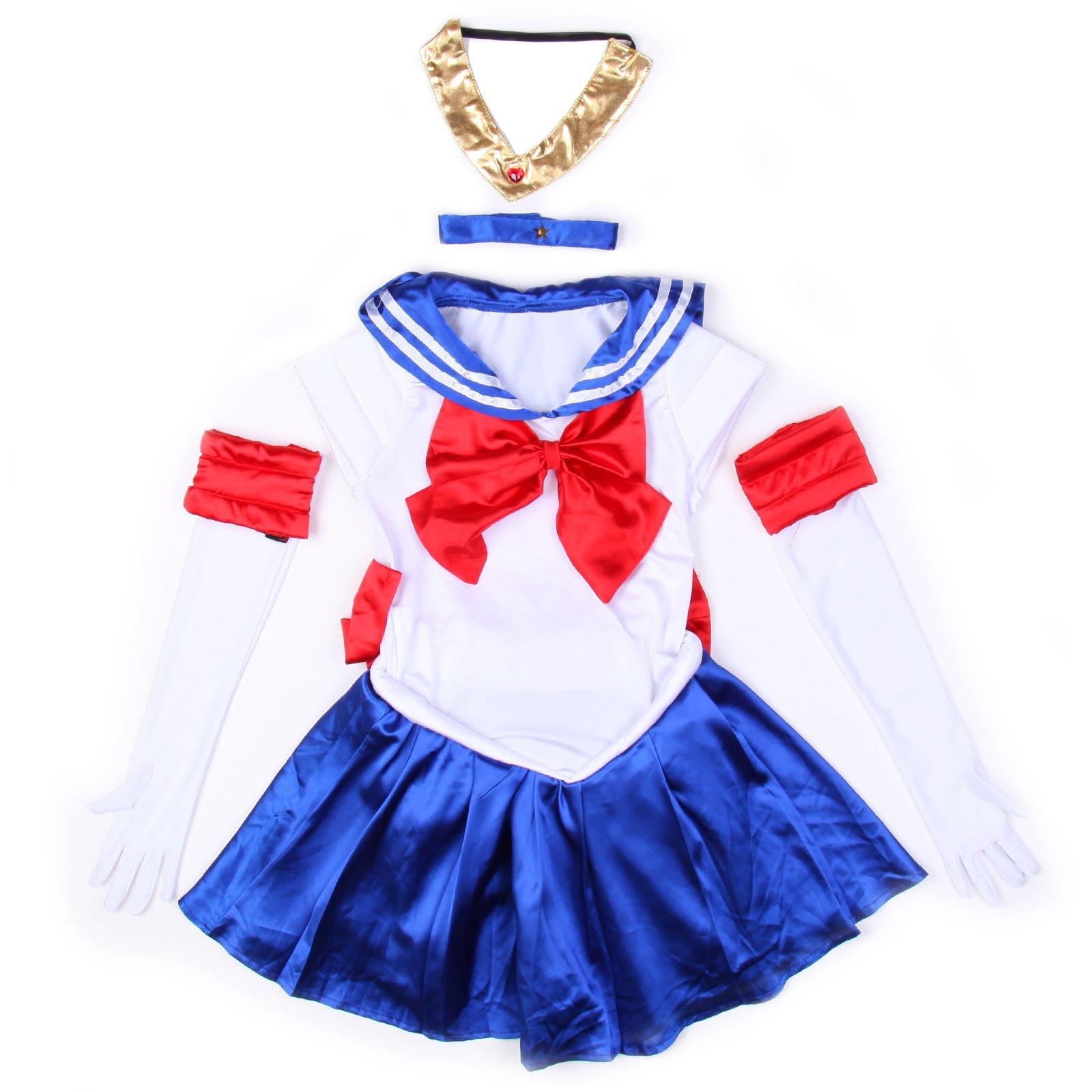 maboobie - Disfraz de Guerrera Luna de Sailor Moon para Adulto ...