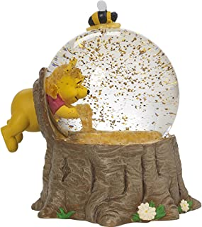 winnie the pooh snow globe music box