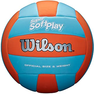 Wilson Super Soft Play Volleyball - Orange/Blue